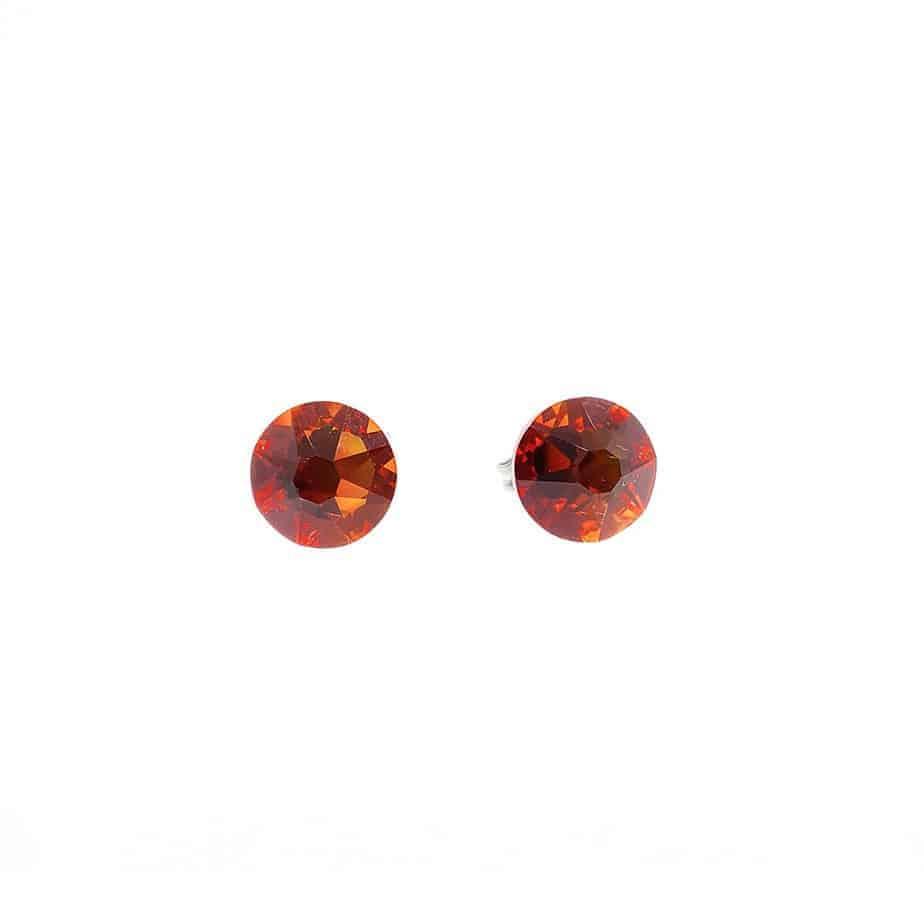 Cercei titan pur Crystal Fire opal